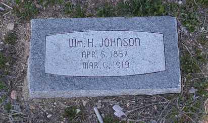 JOHNSON, WILLIAM H. - Yavapai County, Arizona | WILLIAM H. JOHNSON - Arizona Gravestone Photos