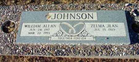JOHNSON, WILLIAM ALLEN - Yavapai County, Arizona | WILLIAM ALLEN JOHNSON - Arizona Gravestone Photos