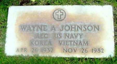 JOHNSON, WAYNE A. - Yavapai County, Arizona   WAYNE A. JOHNSON - Arizona Gravestone Photos