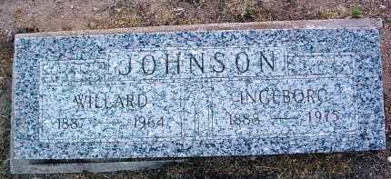 JOHNSON, WILLARD - Yavapai County, Arizona | WILLARD JOHNSON - Arizona Gravestone Photos