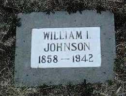 JOHNSON, WILLIAM I. - Yavapai County, Arizona   WILLIAM I. JOHNSON - Arizona Gravestone Photos