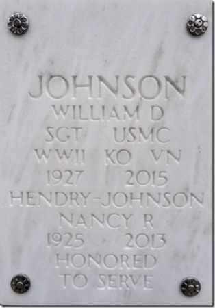 JOHNSON, WILLIAM D. - Yavapai County, Arizona | WILLIAM D. JOHNSON - Arizona Gravestone Photos