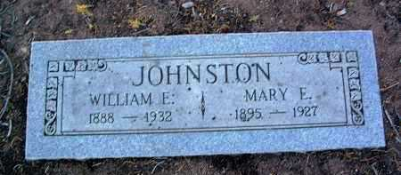 JOHNSTON, WILLIAM EARL - Yavapai County, Arizona | WILLIAM EARL JOHNSTON - Arizona Gravestone Photos
