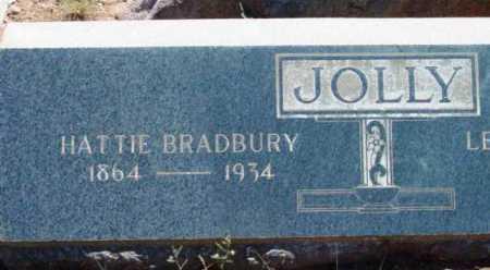 BRADBURY JOLLY, HARRIET (HATTIE) - Yavapai County, Arizona | HARRIET (HATTIE) BRADBURY JOLLY - Arizona Gravestone Photos