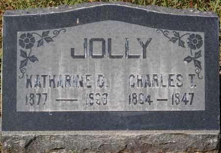 JOLLY, KATHARINE D. - Yavapai County, Arizona | KATHARINE D. JOLLY - Arizona Gravestone Photos