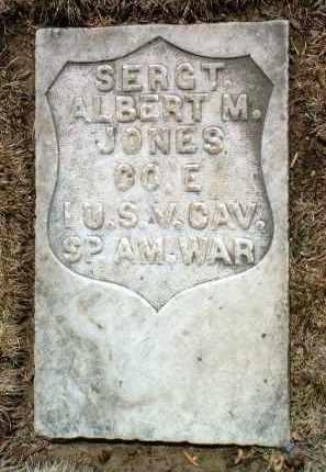 JONES, ALBERT M. - Yavapai County, Arizona   ALBERT M. JONES - Arizona Gravestone Photos