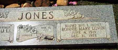 JONES, BONNIE MARY - Yavapai County, Arizona | BONNIE MARY JONES - Arizona Gravestone Photos