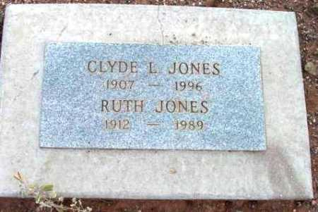 JONES, CLYDE L. - Yavapai County, Arizona | CLYDE L. JONES - Arizona Gravestone Photos