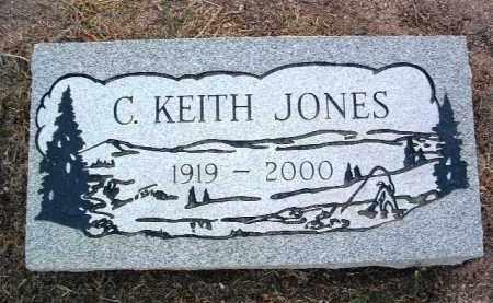 JONES, CLARENCE KEITH - Yavapai County, Arizona | CLARENCE KEITH JONES - Arizona Gravestone Photos