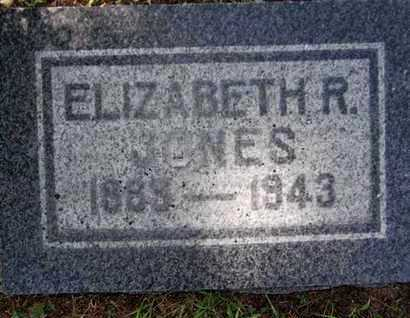 JONES, ELIZABETH R. - Yavapai County, Arizona   ELIZABETH R. JONES - Arizona Gravestone Photos