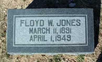 JONES, FLOYD WOODVILLE - Yavapai County, Arizona | FLOYD WOODVILLE JONES - Arizona Gravestone Photos