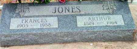 JONES, FRANCES S. - Yavapai County, Arizona | FRANCES S. JONES - Arizona Gravestone Photos