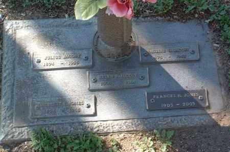 JONES, FRANCES HEIMAN - Yavapai County, Arizona | FRANCES HEIMAN JONES - Arizona Gravestone Photos
