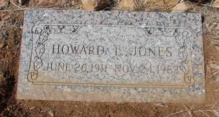 JONES, HOWARD L. - Yavapai County, Arizona | HOWARD L. JONES - Arizona Gravestone Photos