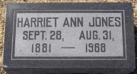 JONES, HARRIET ANN - Yavapai County, Arizona | HARRIET ANN JONES - Arizona Gravestone Photos