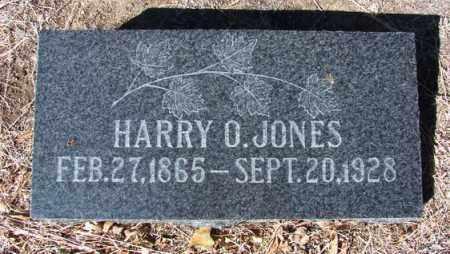 JONES, HARRY O. - Yavapai County, Arizona   HARRY O. JONES - Arizona Gravestone Photos