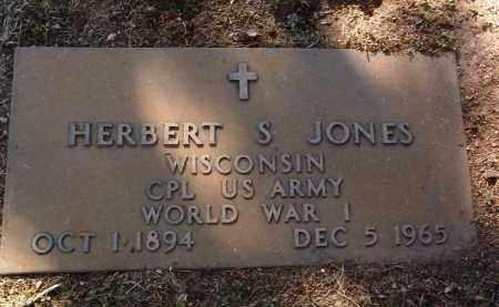 JONES, HERBERT S. - Yavapai County, Arizona   HERBERT S. JONES - Arizona Gravestone Photos