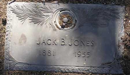 JONES, JOHN BENTON (JACK) - Yavapai County, Arizona | JOHN BENTON (JACK) JONES - Arizona Gravestone Photos