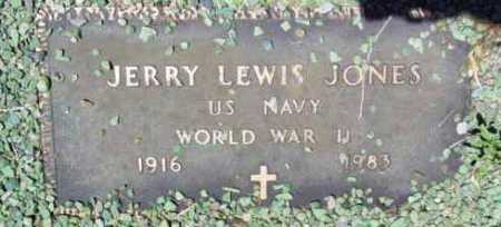 JONES, JERRY LEWIS (J.L.) - Yavapai County, Arizona   JERRY LEWIS (J.L.) JONES - Arizona Gravestone Photos