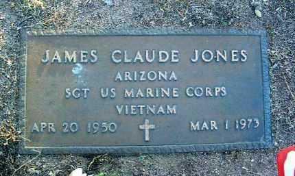 JONES, JAMES CLAUDE - Yavapai County, Arizona | JAMES CLAUDE JONES - Arizona Gravestone Photos