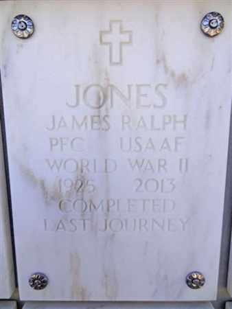 JONES, JAMES RALPH - Yavapai County, Arizona   JAMES RALPH JONES - Arizona Gravestone Photos
