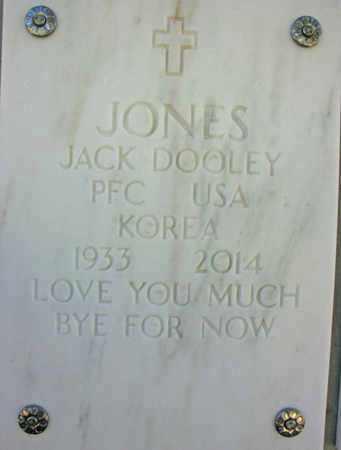 JONES, JACK DOOLEY - Yavapai County, Arizona | JACK DOOLEY JONES - Arizona Gravestone Photos