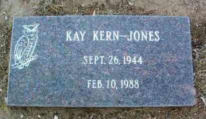 KERN JONES, KAY LYNN - Yavapai County, Arizona | KAY LYNN KERN JONES - Arizona Gravestone Photos