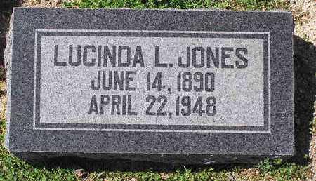 JONES, LUCINDA L. - Yavapai County, Arizona | LUCINDA L. JONES - Arizona Gravestone Photos