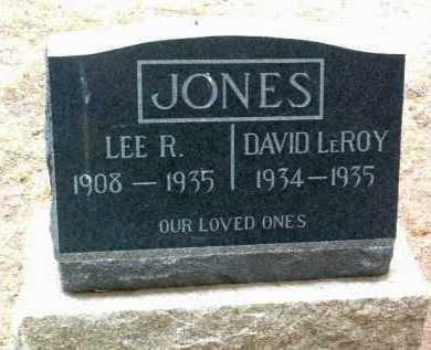 JONES, DAVID LEROY - Yavapai County, Arizona | DAVID LEROY JONES - Arizona Gravestone Photos
