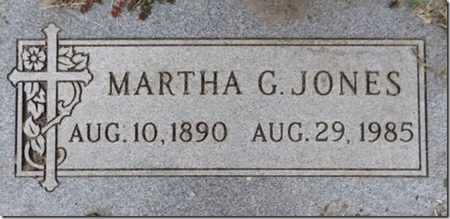 GREENLEE JONES, MARTHA - Yavapai County, Arizona | MARTHA GREENLEE JONES - Arizona Gravestone Photos