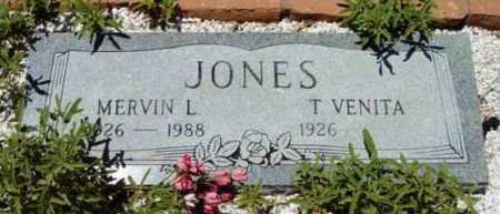 JONES, T. VENITA - Yavapai County, Arizona | T. VENITA JONES - Arizona Gravestone Photos