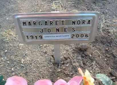 WELLS JONES, MARGARET NORA - Yavapai County, Arizona | MARGARET NORA WELLS JONES - Arizona Gravestone Photos