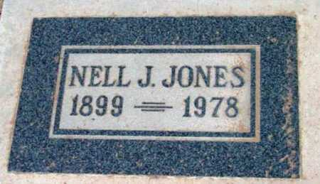 JONES, NELL JANE - Yavapai County, Arizona | NELL JANE JONES - Arizona Gravestone Photos
