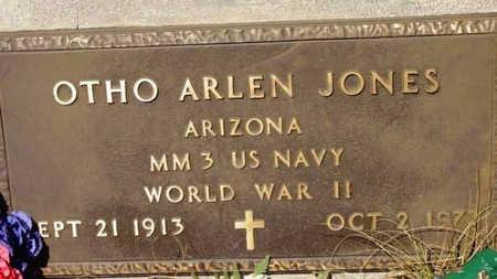 JONES, OTHO ALDEN - Yavapai County, Arizona | OTHO ALDEN JONES - Arizona Gravestone Photos