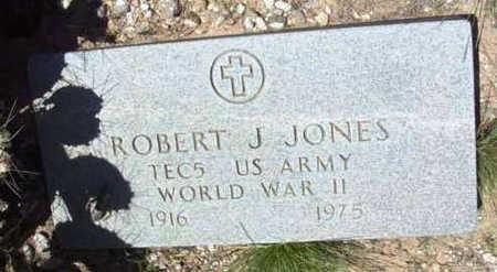 JONES, ROBERT J. - Yavapai County, Arizona | ROBERT J. JONES - Arizona Gravestone Photos
