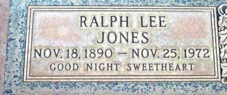 JONES, RALPH LEE - Yavapai County, Arizona | RALPH LEE JONES - Arizona Gravestone Photos