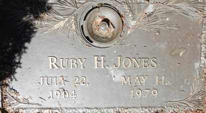 JONES, RUBY HAZEL - Yavapai County, Arizona   RUBY HAZEL JONES - Arizona Gravestone Photos