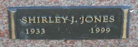 JONES, SHIRLEY J. - Yavapai County, Arizona   SHIRLEY J. JONES - Arizona Gravestone Photos
