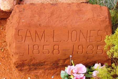 JONES, SAMUEL L. - Yavapai County, Arizona | SAMUEL L. JONES - Arizona Gravestone Photos