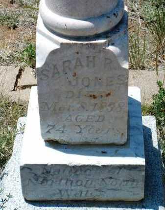JONES, SARAH R. - Yavapai County, Arizona | SARAH R. JONES - Arizona Gravestone Photos