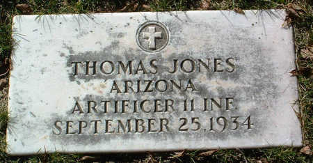 JONES, THOMAS - Yavapai County, Arizona | THOMAS JONES - Arizona Gravestone Photos