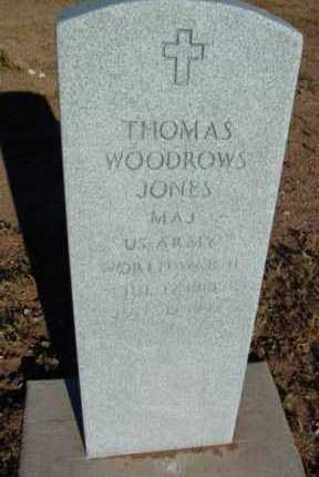 JONES, THOMAS WOODROW - Yavapai County, Arizona | THOMAS WOODROW JONES - Arizona Gravestone Photos