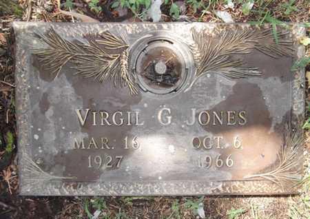 JONES, VIRGIL GENE - Yavapai County, Arizona | VIRGIL GENE JONES - Arizona Gravestone Photos