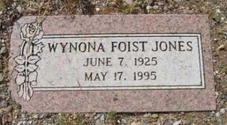 FOIST JONES, WYNONA - Yavapai County, Arizona | WYNONA FOIST JONES - Arizona Gravestone Photos