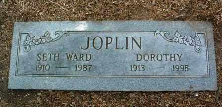 JOPLIN, SETH WARD - Yavapai County, Arizona | SETH WARD JOPLIN - Arizona Gravestone Photos