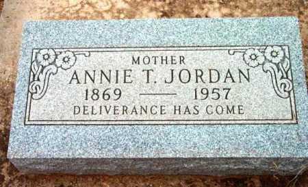 BRISTOW JORDAN, ANNIE TABITHA - Yavapai County, Arizona | ANNIE TABITHA BRISTOW JORDAN - Arizona Gravestone Photos