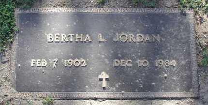 JORDAN, BERTHA LILLIAN - Yavapai County, Arizona   BERTHA LILLIAN JORDAN - Arizona Gravestone Photos