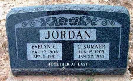 JORDAN, EVELYN C. - Yavapai County, Arizona | EVELYN C. JORDAN - Arizona Gravestone Photos