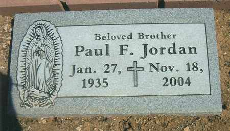 JORDAN, PAUL FRANCIS - Yavapai County, Arizona | PAUL FRANCIS JORDAN - Arizona Gravestone Photos