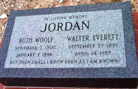 JORDAN, WALTER EVERETT - Yavapai County, Arizona | WALTER EVERETT JORDAN - Arizona Gravestone Photos
